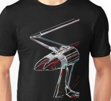 Cadillac tail fin Unisex T-Shirt