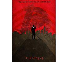 Daredevil Minimalist Art Print - Poster  Photographic Print