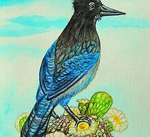 Steller's Jay by WildestArt