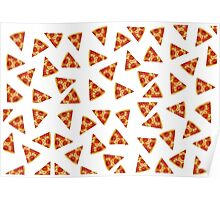 Pizza all over Poster