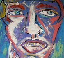 big face blue by sehbear