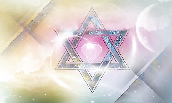 STAR OF DAVID-2- bless and protect- Art + Products Design  by haya1812