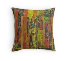 Tall buildings Throw Pillow