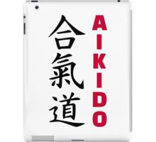 Aikido iPad Case/Skin
