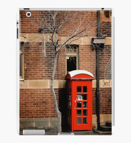 Red Telephone Box, The Rocks, Sydney iPad Case/Skin