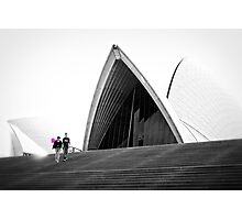 Down At The Opera House Photographic Print