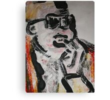 stevie two Canvas Print