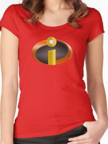 The Incredibles - shiny Women's Fitted Scoop T-Shirt