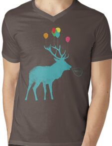 Stag Party Mens V-Neck T-Shirt
