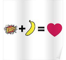 Z + H = love Poster