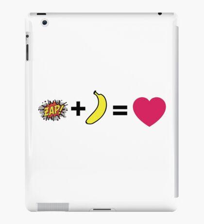 Z + H = love iPad Case/Skin