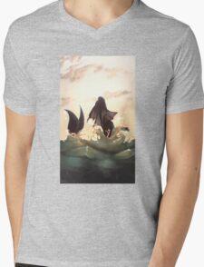 Vaporeon Mens V-Neck T-Shirt