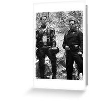 Steve and Bucky Greeting Card