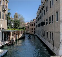 Canel in Venice 3 by David Freeman