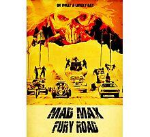 Mad Max Fury Road - Immortan Joe - Art Design Photographic Print