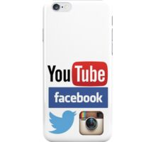 Social Networks iPhone Case/Skin