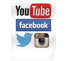 Social Networks Poster