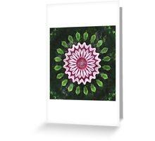 Rosas Moradas 2 Kaleidoscope 15 Greeting Card