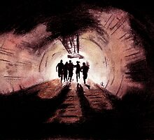 28 Weeks Later Tunnel by Zombie Rust