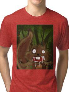Rabid Squirel Tri-blend T-Shirt