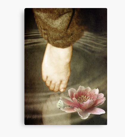 Touch.... Canvas Print
