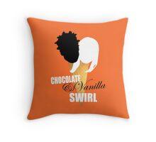 Chocolate & Vanilla Throw Pillow