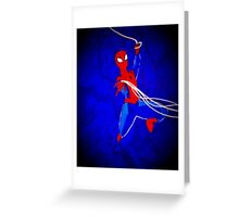 Spiderman emerges! Greeting Card