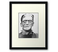 Frankenstein Framed Print