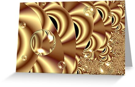 Golden Bubble Highway by judygal