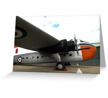 Bristol Freighter Mark 21 (A81-1) - RAAF Museum, Pt Cook,Victoria Greeting Card