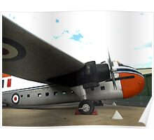 Bristol Freighter Mark 21 (A81-1) - RAAF Museum, Pt Cook,Victoria Poster