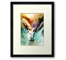 Ascent into the Unknown Framed Print