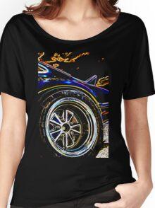 Porsche RSR Rear Wheel Women's Relaxed Fit T-Shirt