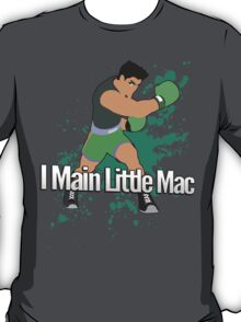 I Main Little Mac - Super Smash Bros. T-Shirt