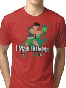 I Main Little Mac - Super Smash Bros. Tri-blend T-Shirt