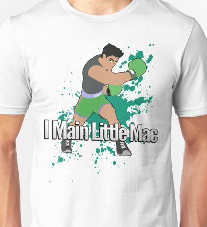 I Main Little Mac - Super Smash Bros. Unisex T-Shirt