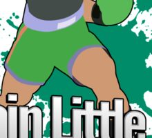 I Main Little Mac - Super Smash Bros. Sticker