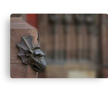 Detail of Strasbourg cathedrale Canvas Print