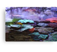 Abstract coral Canvas Print