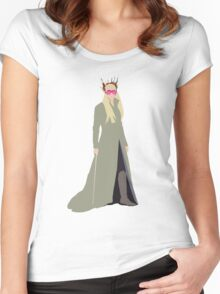 Party King Women's Fitted Scoop T-Shirt