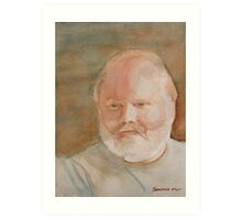 Ed Turns Forty Art Print