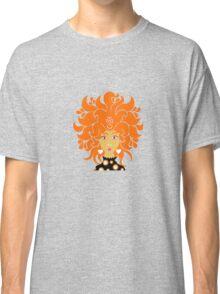 70's Groovy Chic Orange Hair Classic T-Shirt