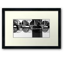 CorbScrew Framed Print