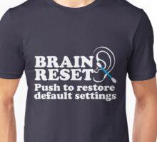 Brain Reset Unisex T-Shirt