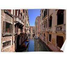 Canal in Venice 1 Poster