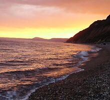 branscombe sunset by brucemlong