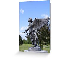 Angel of Hope (version two) Greeting Card