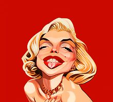 Marilyn by Chris Baker