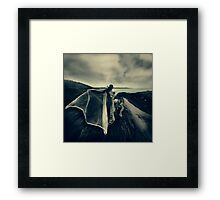 CRAWLING CREATURE Framed Print
