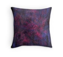 Violet Burning Throw Pillow